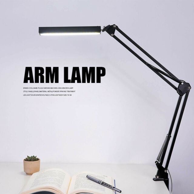 Architect Task Lamp Metal Swing Arm Dimmable Drafting Phive LED Desk Lamp