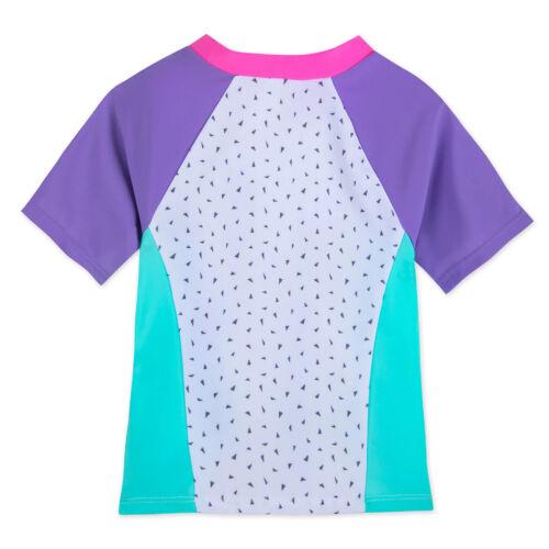 Disney Store Princess Ariel 2 PC Rash Guard Swimsuit Girl Size 4 5//6 7//8