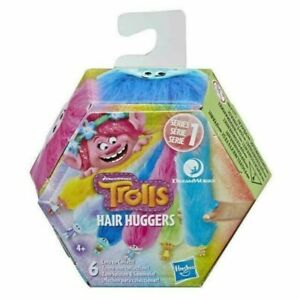 DreamWorks Trolls Hair Huggers Series 1 BNIB Multicolour Pack X 1 #AZG