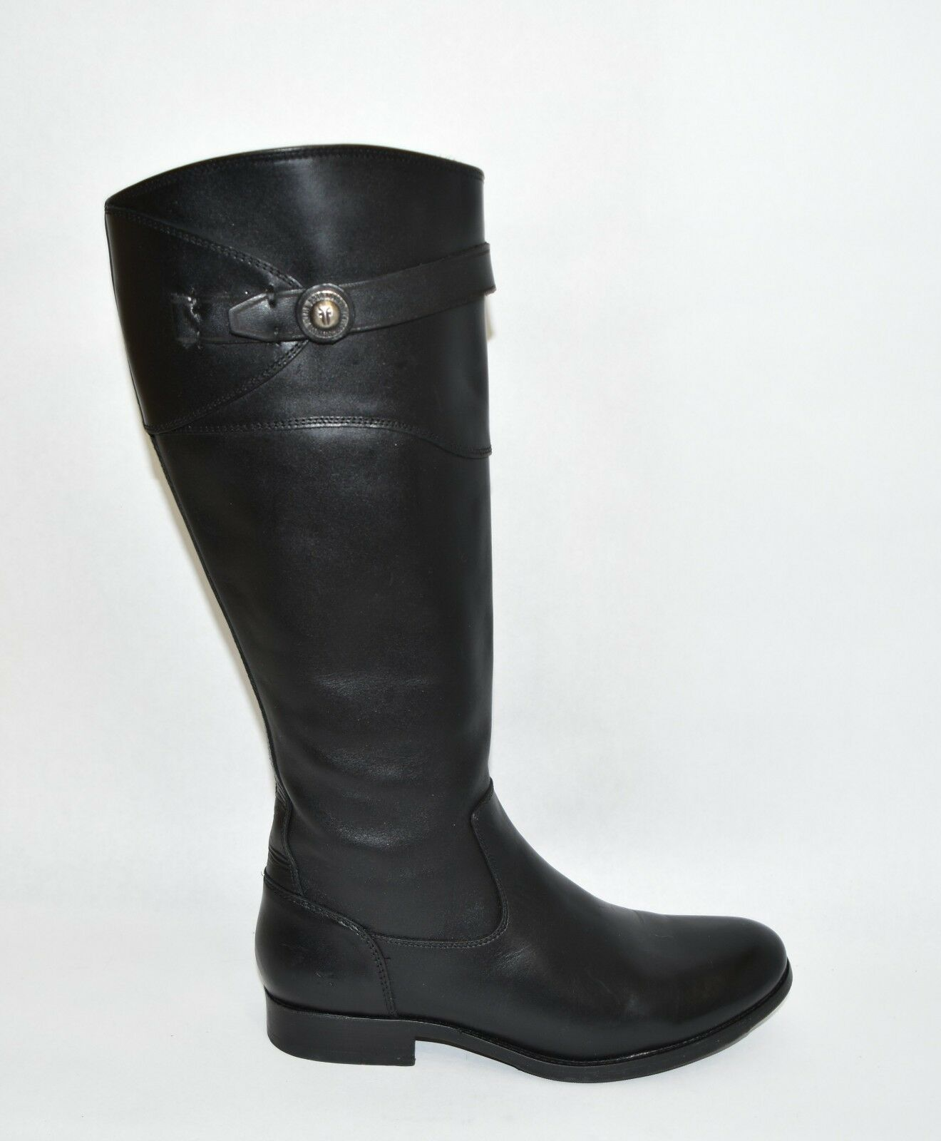 New Frye 'Molly Knee High Boot' 3475111 Black Tall Riding Boot EXT Calf 6.5 T7