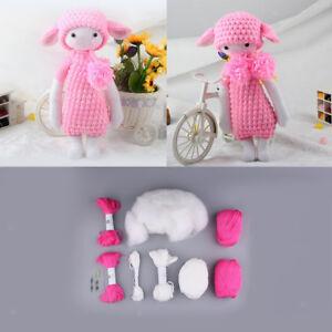 Lamb Doll Crochet Kit Crochet Characters For Beginners Diy Kit