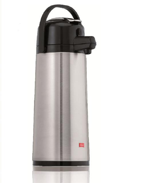 Melitta Pumpkanne Isolier-Kanne 2,2l für M 170 MT (Edelstahlkolben)