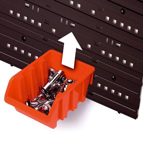 Boîtes de Rangement Plastique Boîtes de Rangement Stockage Garage Boîte à outils ntbnp 3 30 de stockage