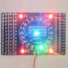 SMD Rotating LED CD4017 NE555 Soldering Practice Board Skill Training DIY Set