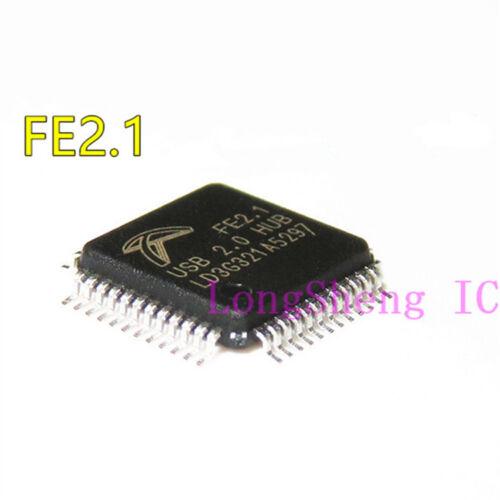 5PCS FE2.1 LQFP-48 USB2.0 high speed seven port hub controller NEW