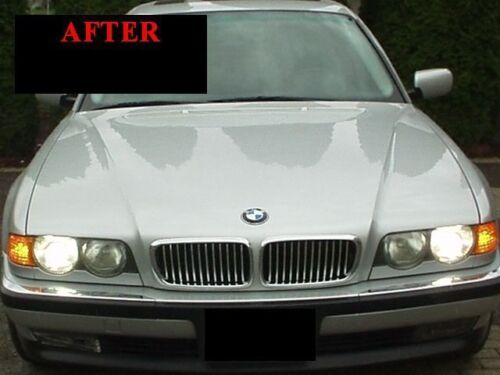 1995-2001 BMW E38 7 SERIES CHROME TRIM FOR GRILL GRILLE 5YR WARRANTY
