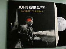 LP    John Greaves ‎– Parrot Fashions -- Henry Cow, National Health