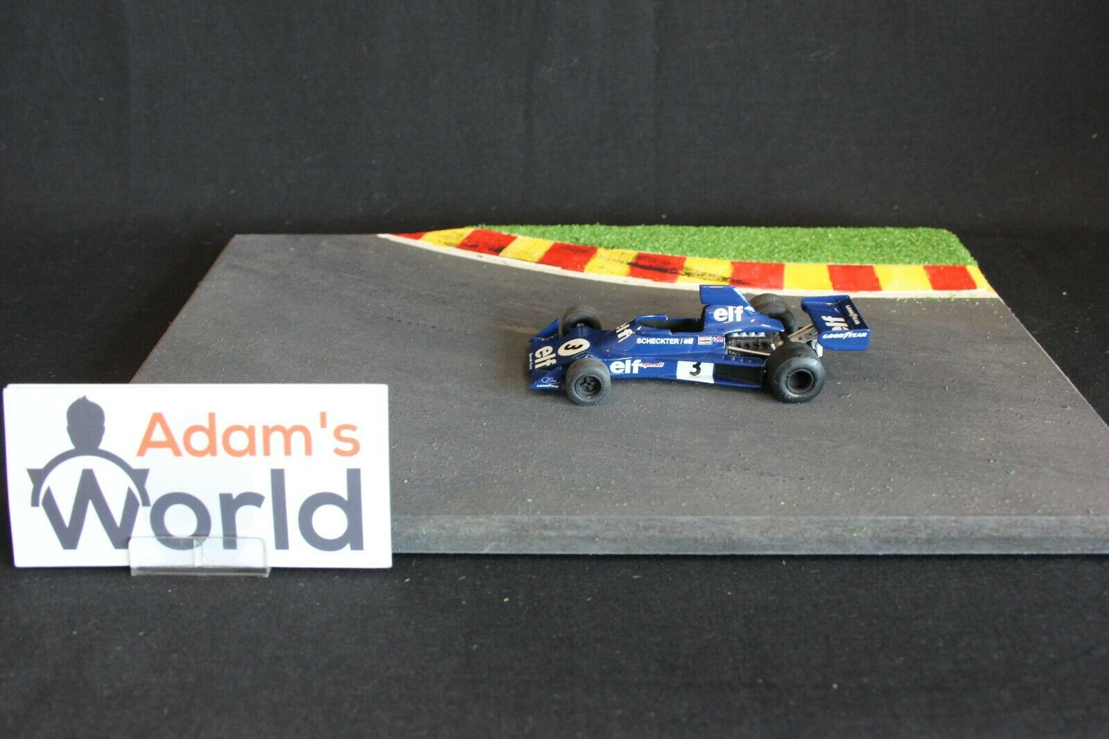 Tenariv Tyrrell Ford 007 1975 1 43  3 Jody Scheckter RSA KL
