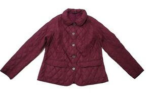 BARBOUR-Bower-Giacca-Trapuntata-In-Bordeaux