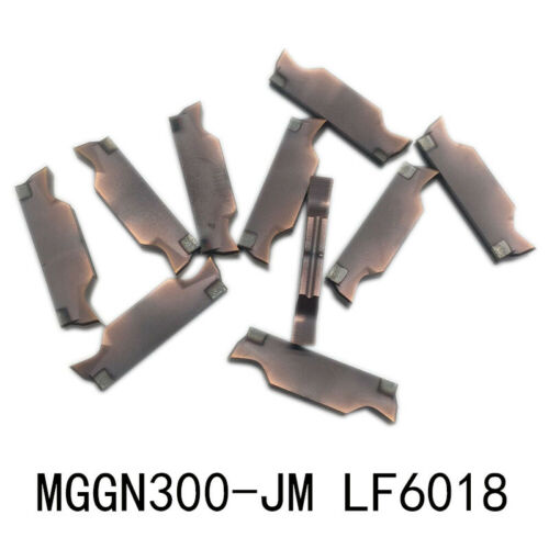 10pcs MGGN300-JM LF6018 3mm grooving cutting Carbide inserts FOR stainless steel