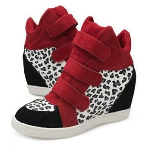 Leopard-Printed-Hidden-Wedge-Boots-Red-size-UK-4