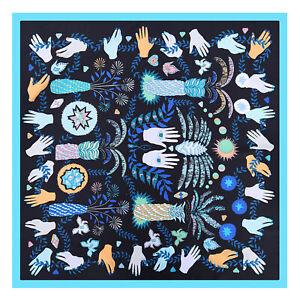 Scialle-a-forma-di-scialle-con-foulard-in-seta-seta-mani-Jacquard-delle-donne