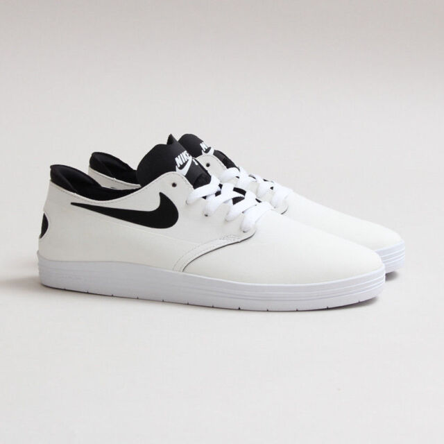 niska cena 50% ceny szeroki wybór Nike SB Lunar One Shot Size 6 631044-101 White Skateboarding Shoes  Hyperscreen