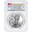 2019-W-1-American-Silver-Eagle-PCGS-MS70-First-Strike-Flag-Label thumbnail 1
