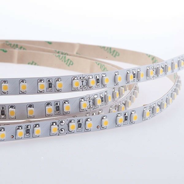 LED STRIP 3528 bianco caldo (2700k) 48w 500cm 24v ip20