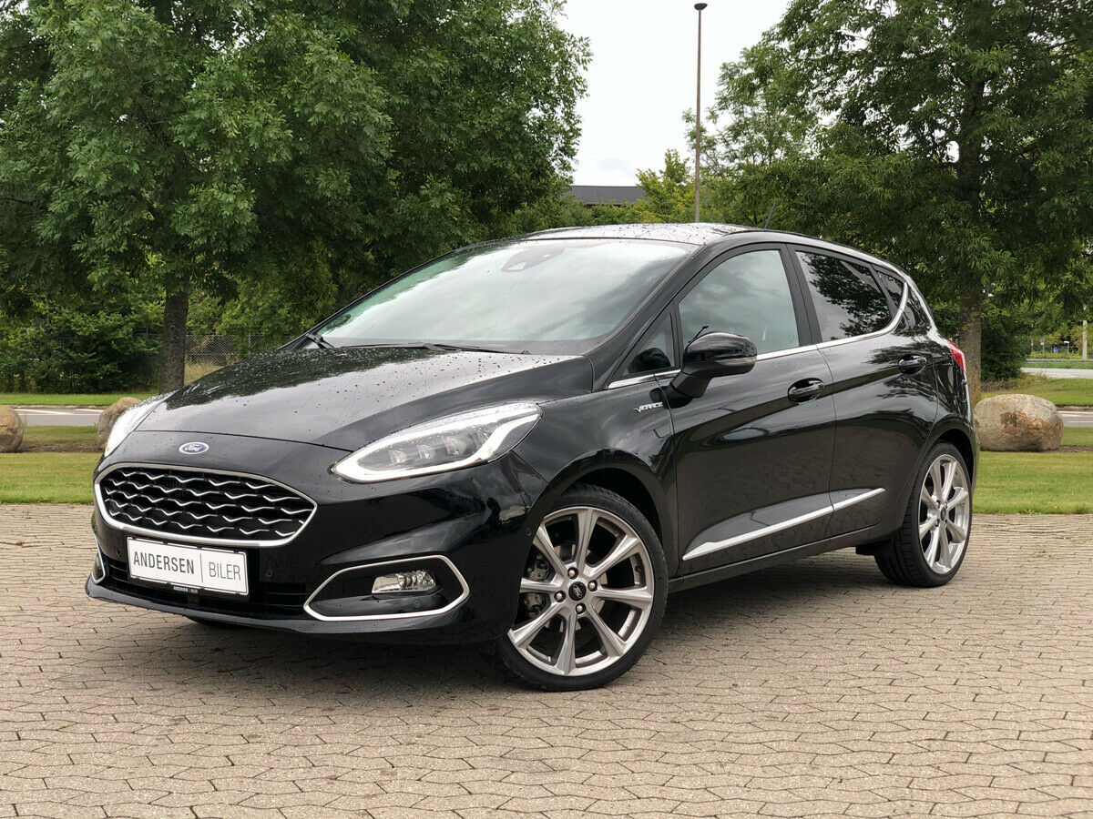 Ford Fiesta 1,0 EcoBoost mHEV Vignale 5d - 219.900 kr.