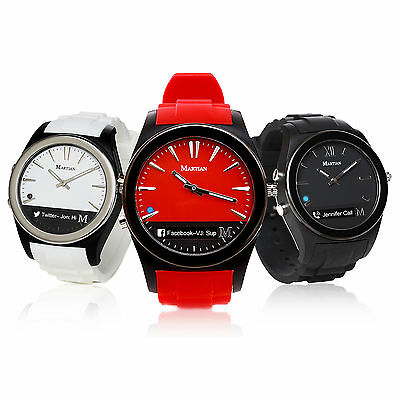 Martian Sports Smart Watch Notifier Smartwatch Wristband for Android ios Gift