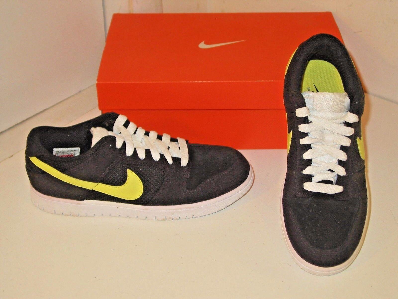 Nike e basso cl & nero giallo   verde basket atletico scarpe scarpe mens 8 | Ottima classificazione  | Uomini/Donna Scarpa