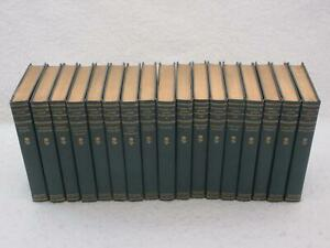 Set-of-17-WORKS-OF-JOHN-BURROUGHS-Houghton-Mifflin-1904-Cloth-Riverby-Edition