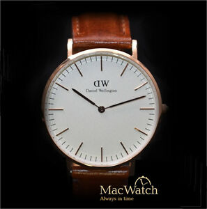 daniel wellington damen uhr st mawes rosegold 0507dw ebay. Black Bedroom Furniture Sets. Home Design Ideas