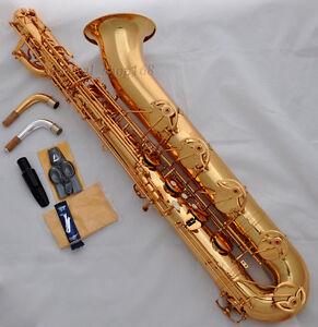 Professional Taishan Brass Unlacquer Baritone Saxophone Eb