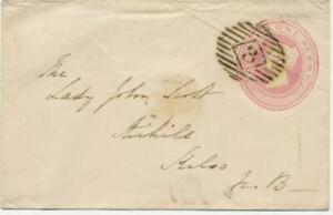 GB-LONDON-Inland-Office-3-rare-Numeral-Postmark-Parmenter-3D-NEW-EARLIEST-DATE