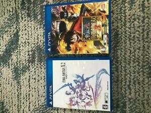Final-Fantasy-X-2-HD-Remaster-one-piece-kaizoku-musou-3-PS-Vita-game-2-set