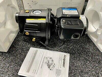 Acquaer Shallow Well Jet Pump 1//2 HP Dual Voltage Self-Priming Cast Iron
