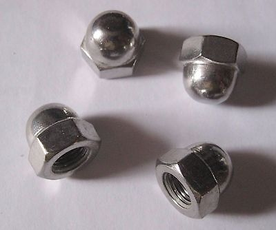 """UNF DOME NUTS A2 STAINLESS STEEL HEX ACORN 10-32 1//4/"""" 5//16/"""" 3//8/"""" 1//2/"""""""