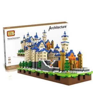 LOZ-9049 Schwanen Burg Blocksteine Kinder DIY Montage Spielzeug OVP 6800PCS