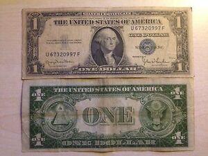 STATI-UNITI-USA-1-DOLLARO-ONE-DOLLAR-SERIES-1935-D-SIGILLO-BLU-MOLTO-RARA