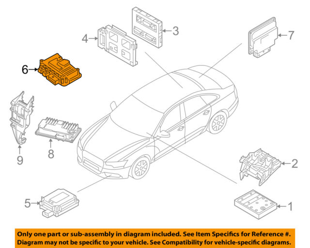 Chassis Ecm Suspension Dynamic Steering Control Fits 17 Audi R8 Ebayrhebay: Audi R8 Engine Diagram At Gmaili.net