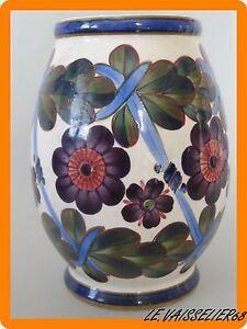 Ponctuel Ancien Vase Aluminia Denemark Copenhagen Gamme ComplèTe D'Articles