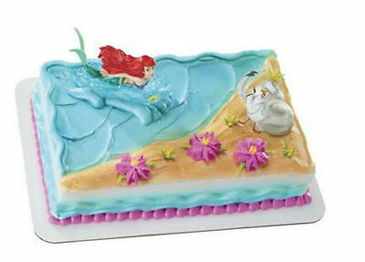 Little Mermaid Ariel cake decoration Decoset cake topper set party toys   eBay