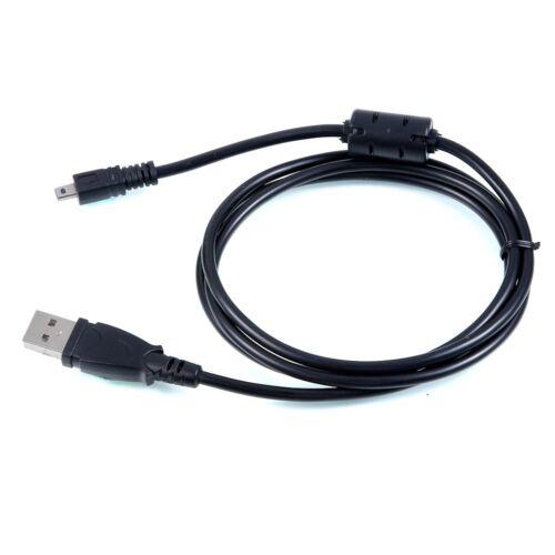 Usb De Datos De Pc Sync Cable Cable de plomo para Pentax Optio Cámara X5 X 5 K-5 Ii S K-5 Iis