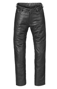 Triumph-Dirk-Jeans-Black-Leather-Motorcycle-Trousers-NEW-MLJS17310