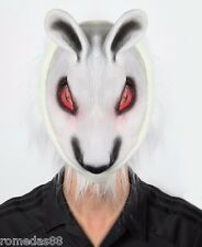 White Fox Halloween Funny Scary Costume Party Mask