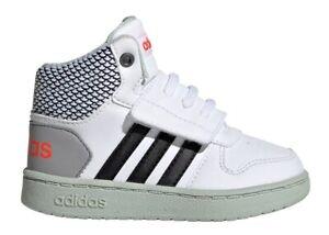 Adidas-HOOPS-MID-2-0I-EE8549-Bianco-Dal-20-al-27-Scarpe-Bambino-Ginnastica