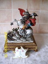 Capodimonte Figurine Napoleon Crossing The Alps By Bruno Tyche