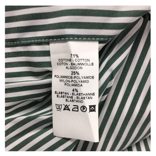 Xacus 71 Camicia verde poliammide Bianca 25 cotone Uomo 4 Elastan 7wPrvcq7