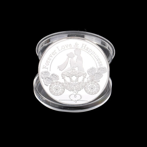 Valentine/'s Day Pig commemorative coin Good luck New Year/'s Eve gift Silver ZP