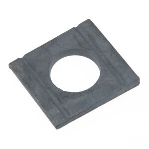 Scheiben DIN 434 Stahl blank ÜH vierkant Neigung 8/% keilförmig
