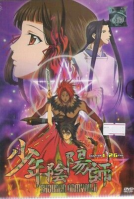 DVD Shonen Onmyouji 1-26End 3DVD Boxset FREE POSTAGE with Tracking WORLDWIDE