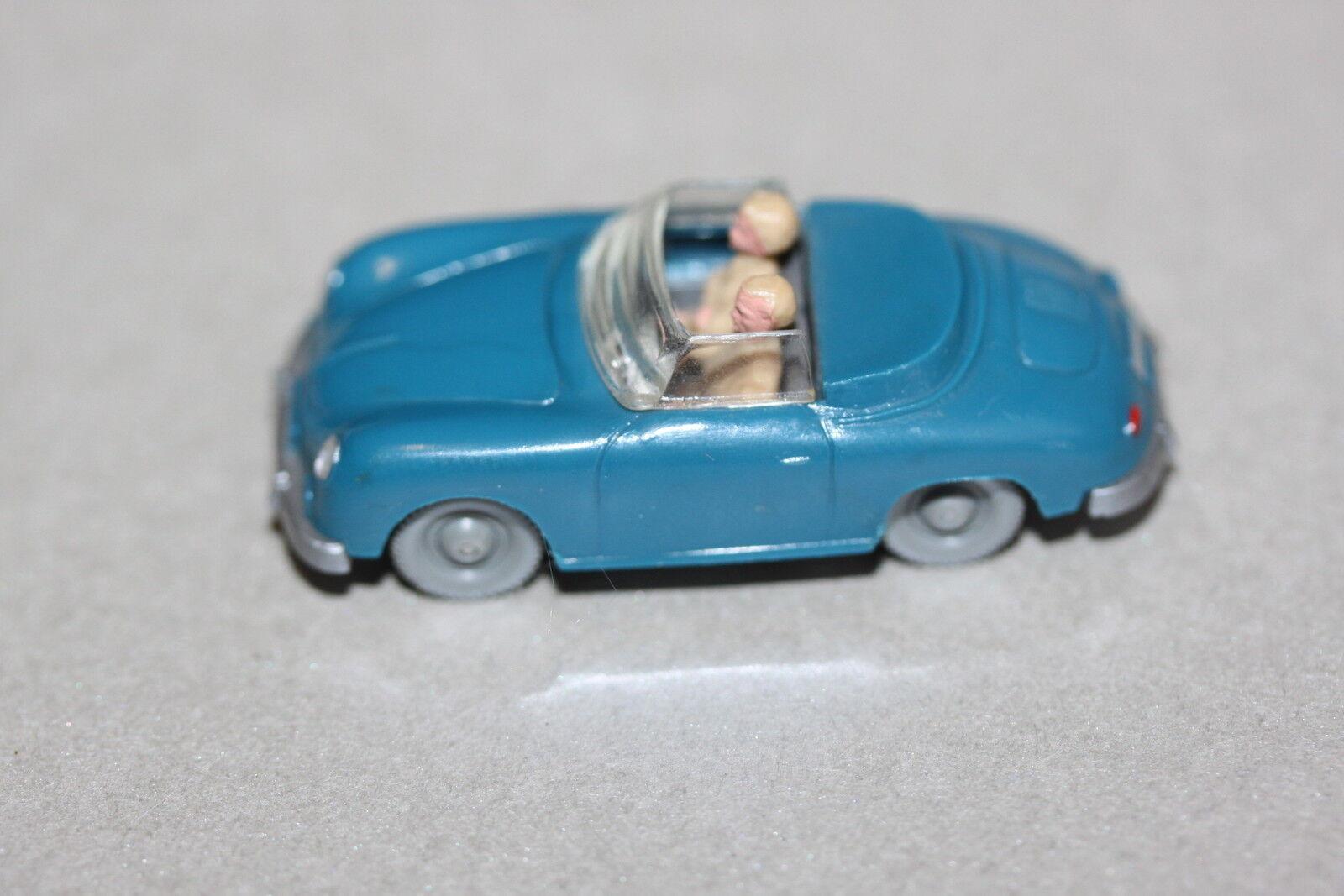 Wiking 160 3 Porsche 356 Cabrio azurblau Spur H0  | Online Shop