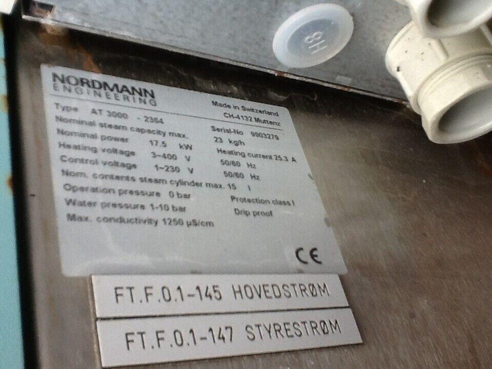 Dampebefugter Nordmann, Procon & Pharmacia