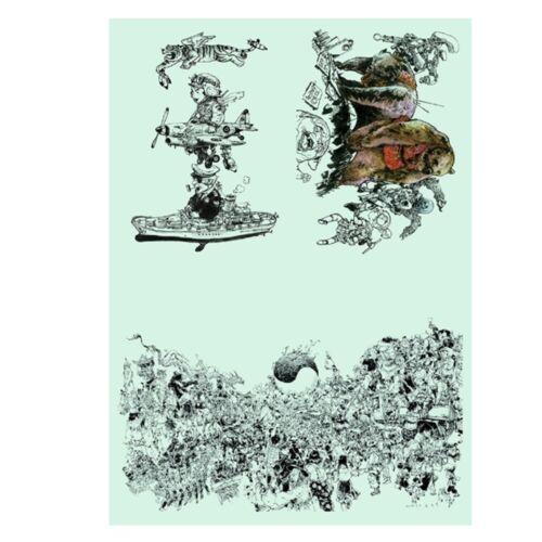 Kim Jung Gi 2018 Sketch Collection Book Drawings Illustration Anime Manga