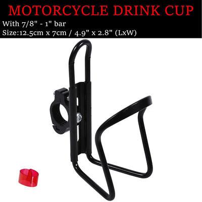 Black Bottle Drink Cup Holder For Honda Forza Ruckus Reflex Elite Silver Wing