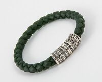 Stephen Webster Highwayman Green Rubber Bracelet