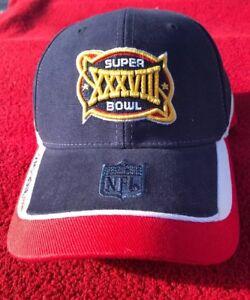 c142eb39f7712 NEW ENGLAND PATRIOTS NFL Super Bowl XXXVIII 38 Adjustable Hat Cap ...