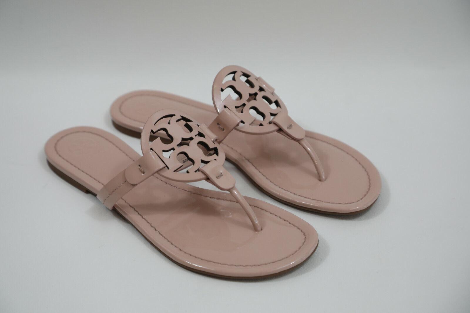 10 10 10 Tory Burch 'Miller' Flip Flop Sandals Size 8.5 M   198 retail 38ebb6